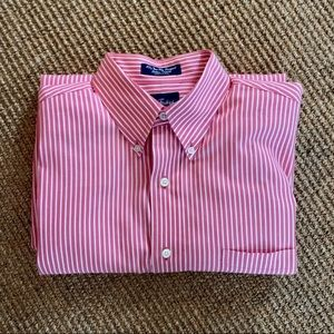 Paul Fredrick | 80s Two Ply Pinpoint Cotton Oxford
